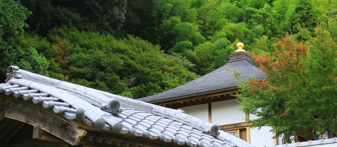 灌溪寺 屋根